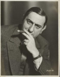 Lubitsch and his cigar